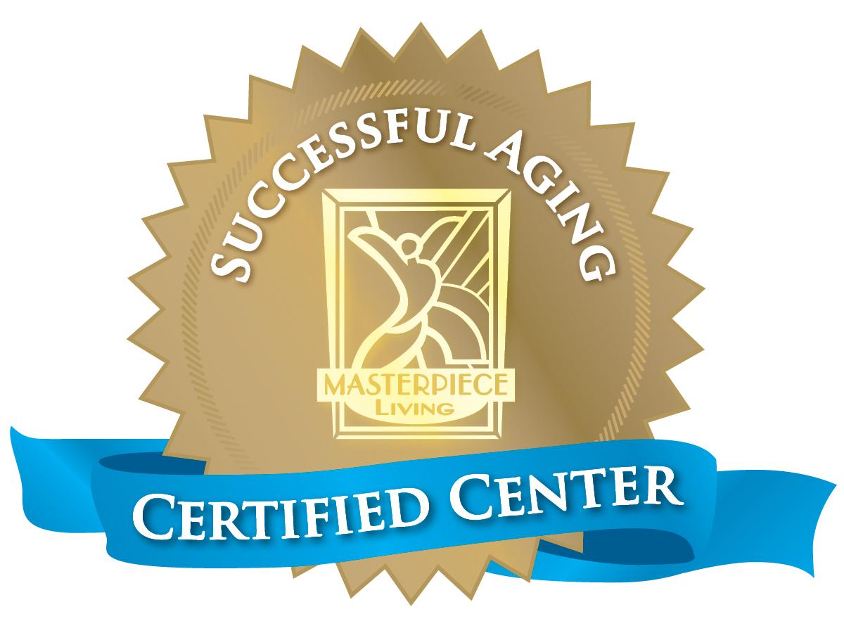 Successful Aging Certified Center award